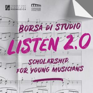 Bando Listen 2.0 – edizione 2017/2018