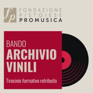 (IT) Elenco candidati ammessi – Bando ARCHIVIO VINILI